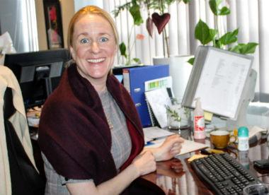 Kristin Maqueen Rafnsdottir i XL Gruppen