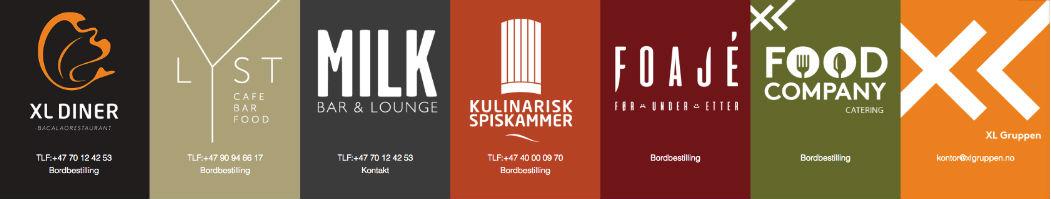 XL Gruppen logoer